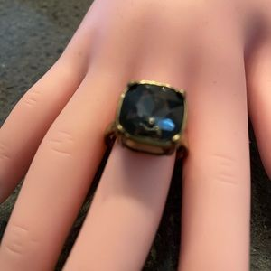Square stone ring size 7